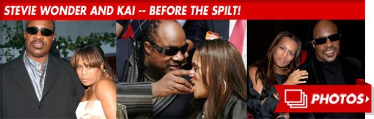Stevie Wonder and Kai Milla Morris -- Before the Split