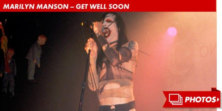 Marilyn Manson -- Performance Photos!