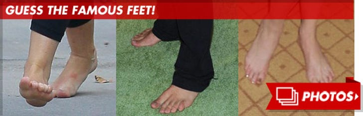 Guess the Famous Feet!