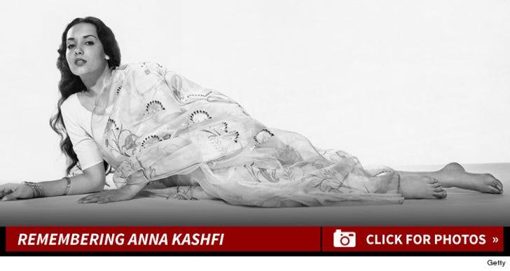 Remembering Anna Kashfi