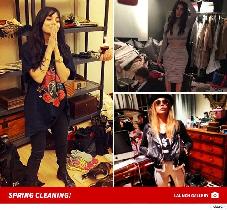 Spring Cleaning -- Stars' Hot Mess
