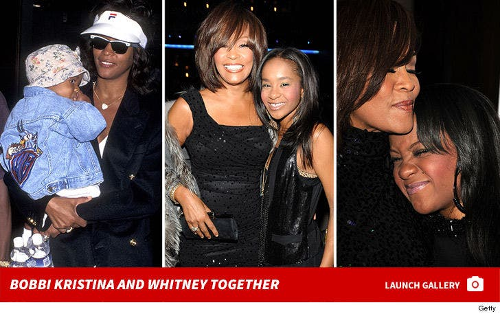 Bobbi Kristina and Whitney Houston Together