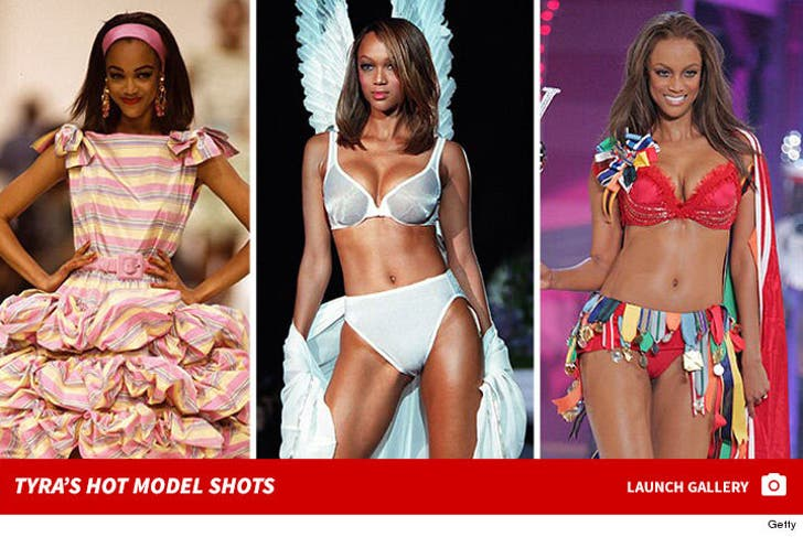 Tyra Banks' Modeling Moments -- Through The Years