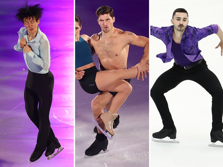 Looks From The Grand Prix of Figure Skating
