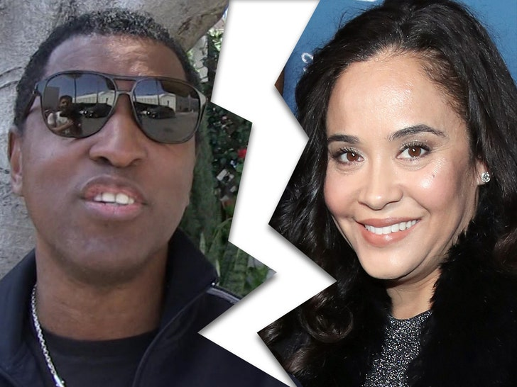 Babyface and wife Nicole Patenburg getting divorced