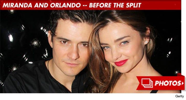 Miranda Kerr and Orlando Bloom -- Before the Split