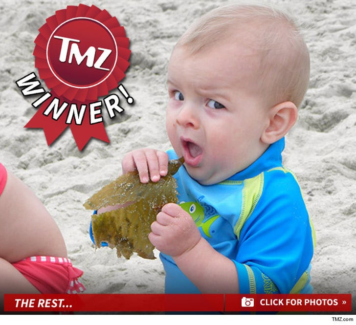 TMZ's Beachin' Baby Photo Contest -- Shore Thing!