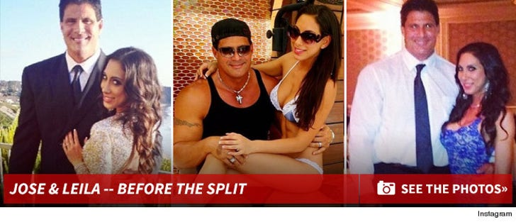 Jose Canseco & Leila Knight -- Before The Split!