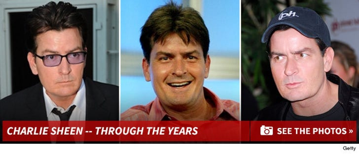 Charlie Sheen -- Through the Years!