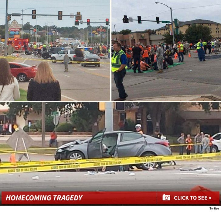 Oklahoma State Homecoming Parade Accident