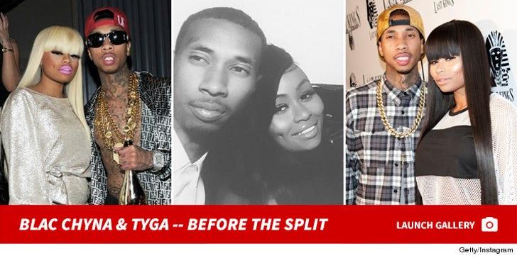 Tyga & Blac Chyna -- Before The Split