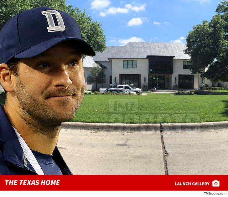 Tony Romo -- Building Insanely Expensive Mansion in Dallas