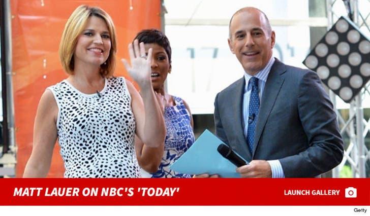 Matt Lauer on NBC's 'Today'