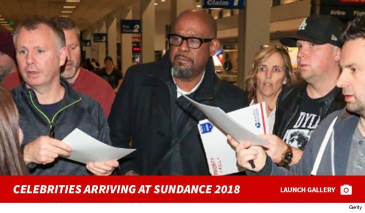 Celebrities Arriving At Sundance 2018