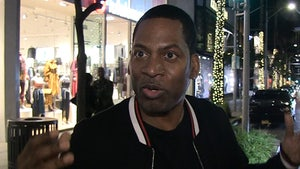 Tony Rock Says Harry and Meghan are White Version of 'Coming to America'