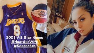 Vanessa Bryant Shares Incredible Kobe Memorabilia, 'Hoarder Wife'