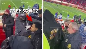 Trey Songz Arrested After Violent Altercation with Cop at Chiefs Game