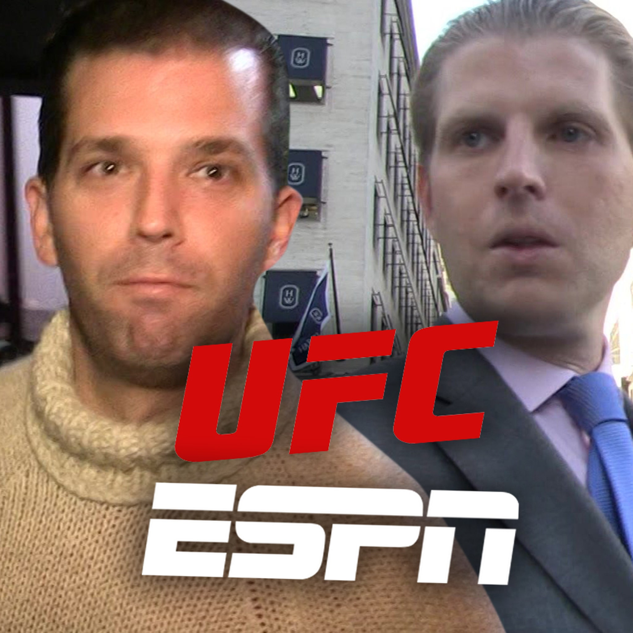 ESPN Won't Hide Trump's Kids During Saturday's UFC Fight