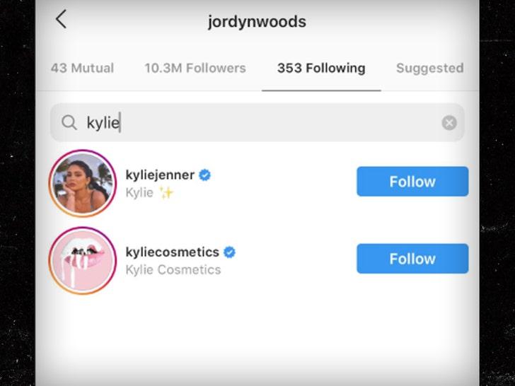 Kylie Jenner Unfollows Jordyn Woods on Instagram