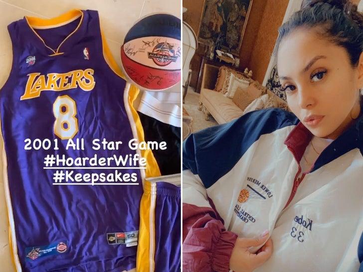 Vanessa Bryant's Kobe #Keepsakes