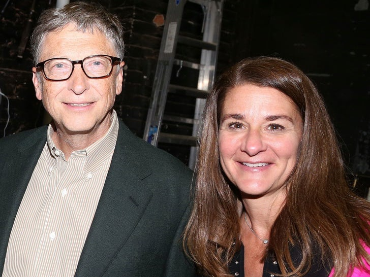 Bill and Melinda Gates -- Happier Times