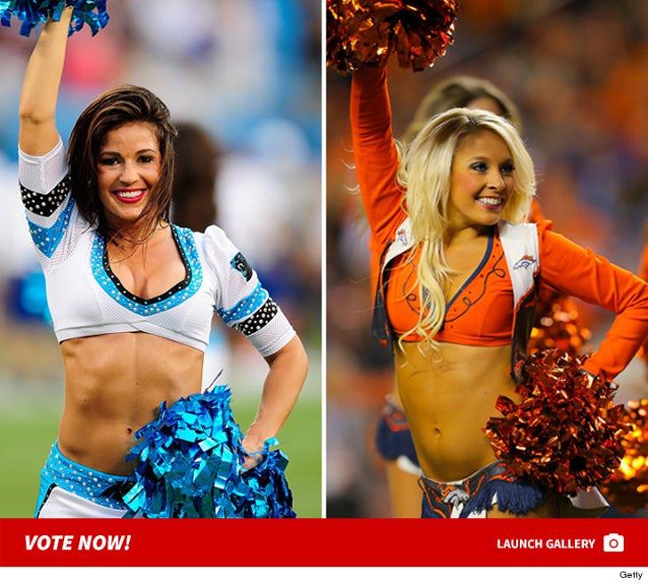 Denver Broncos vs. Carolina Panthers Cheerleaders: Who'd You Rather?