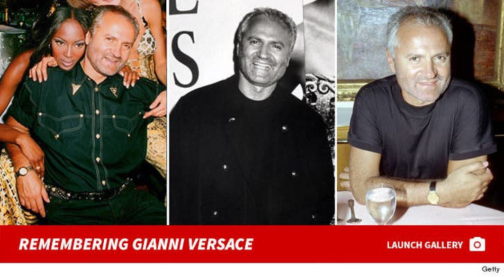 Remembering Gianni Versace