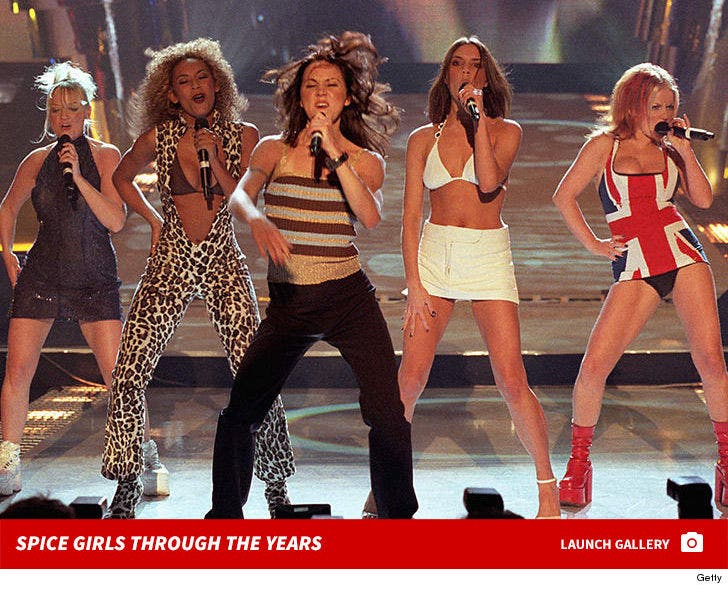 Spice Girls Through the Years