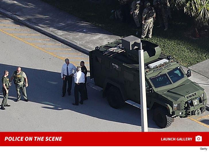 Parkland School Shooting -- The Police Scene