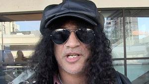 Slash Gets Restraining Order Against Scary Man at Super Bowl Party