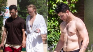 Joe Jonas and Sophie Turner Arrive at French Wedding Venue
