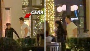 John Cena Has Romantic Dinner with Girlfriend After Nikki Bella Engagement Announcement
