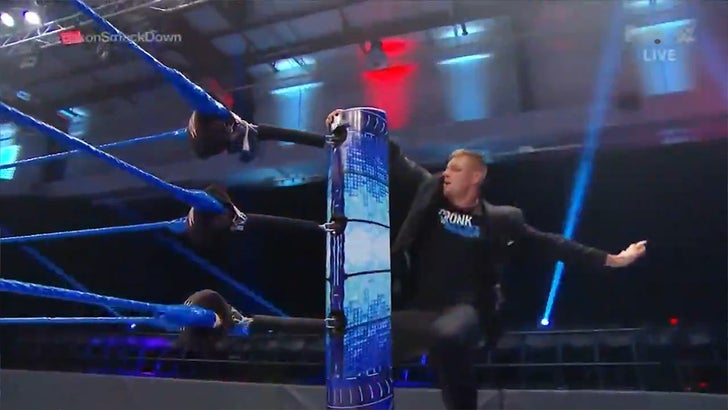 Preliminary WWE SmackDown Viewership Steady From Performance Center