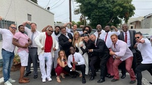 Wrestling Stars Hold Tribute for Shad Gaspard