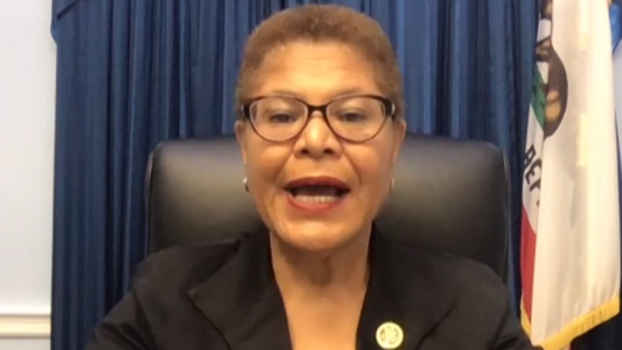 Rep. Karen Bass Urges Americans to Keep Pressing for Police Reform