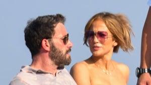 Ben Affleck and Jennifer Lopez Enjoy the Amalfi Coast and the Blazing Sun