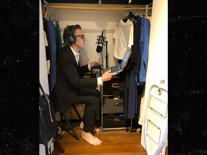 NPR's Ira Glass Records 'This American Life' From Inside His Closet - EpicNews