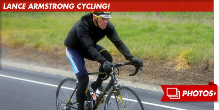 Lance Armstrong Cycling!