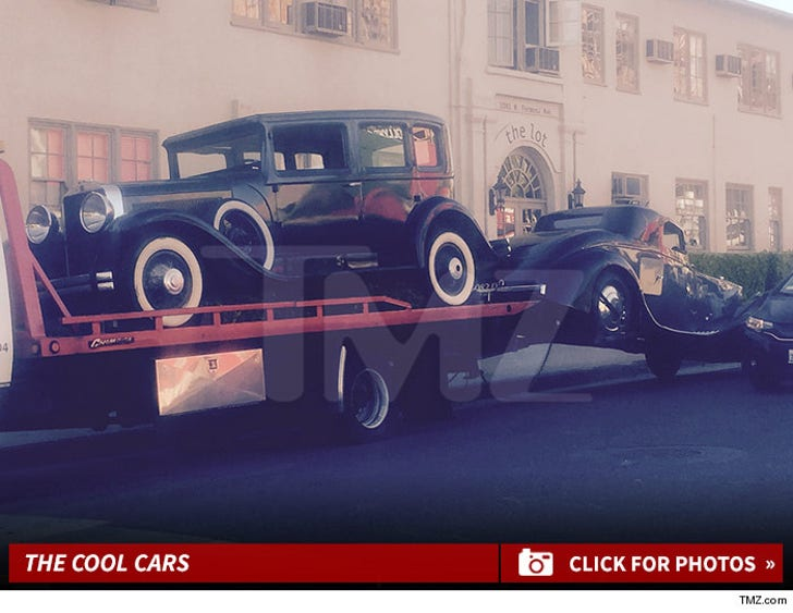 Kris Jenner's 'Great Gatsby' Party Cars