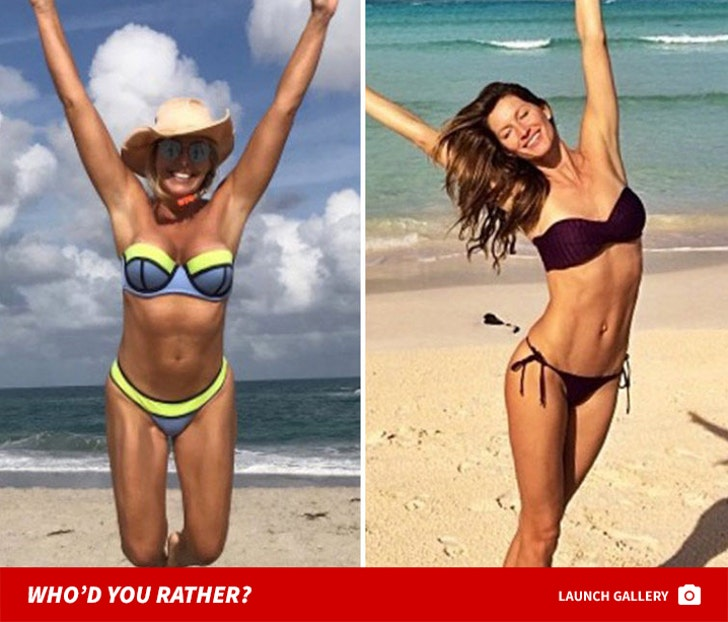 Who'd You Rather? New England Patriots WAGS