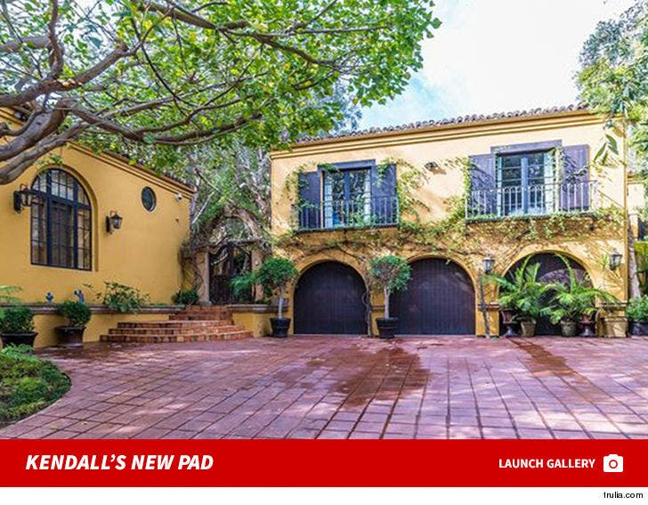Kendall Jenner's Beverly Hills House