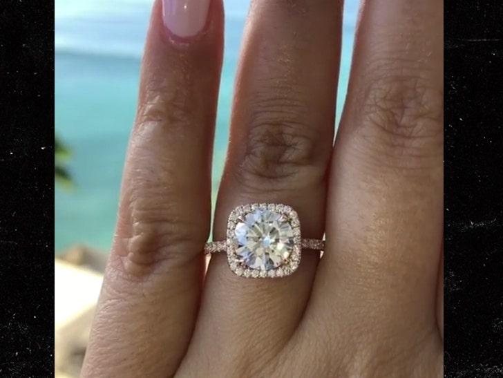 Michael Jordan S Son Engaged Huge Diamond Ring