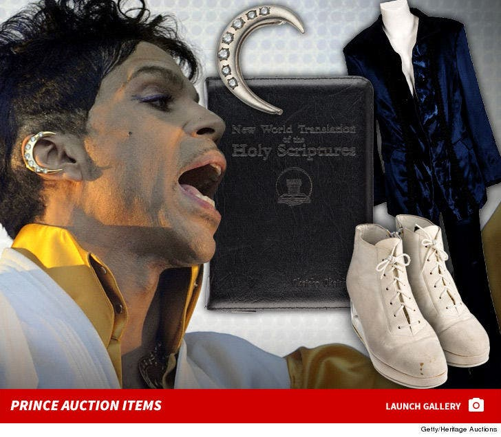 Prince Auction Items