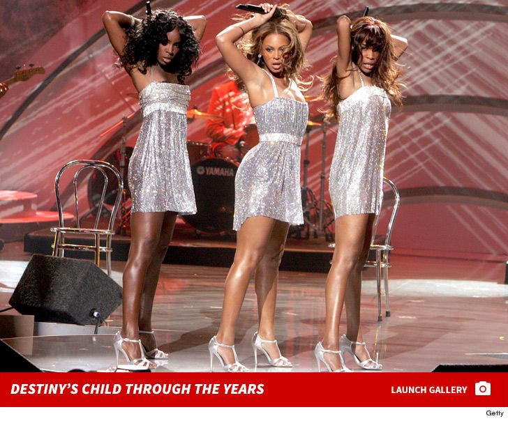 Destiny's Child Together Photos