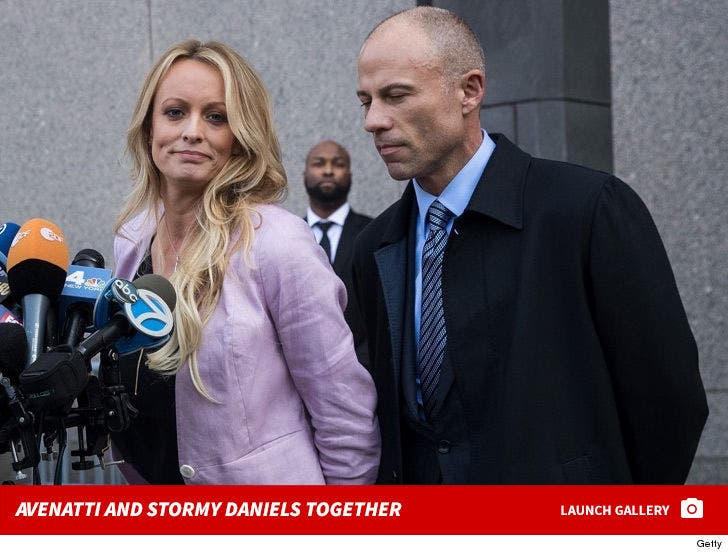 Michael Avenatti and Stormy Daniels Together