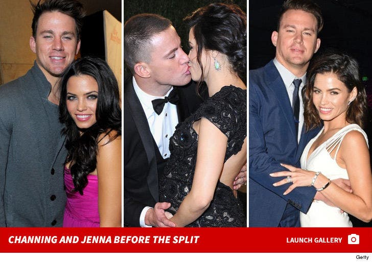 Channing Tatum and Jenna Dewan -- Happier Times