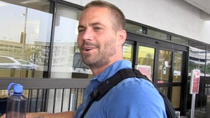 Paul Walker -- Attempts Coverup of Really Hot Photos