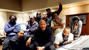 Dr. Dre Back in the Studio After Hospital Release, Brain Aneurysm