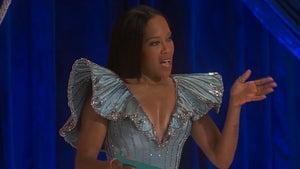Regina King Talks Chauvin Verdict in Opening Oscars Monologue