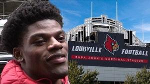 Lamar Jackson Getting Statue Treatment At Louisville Cardinals Stadium